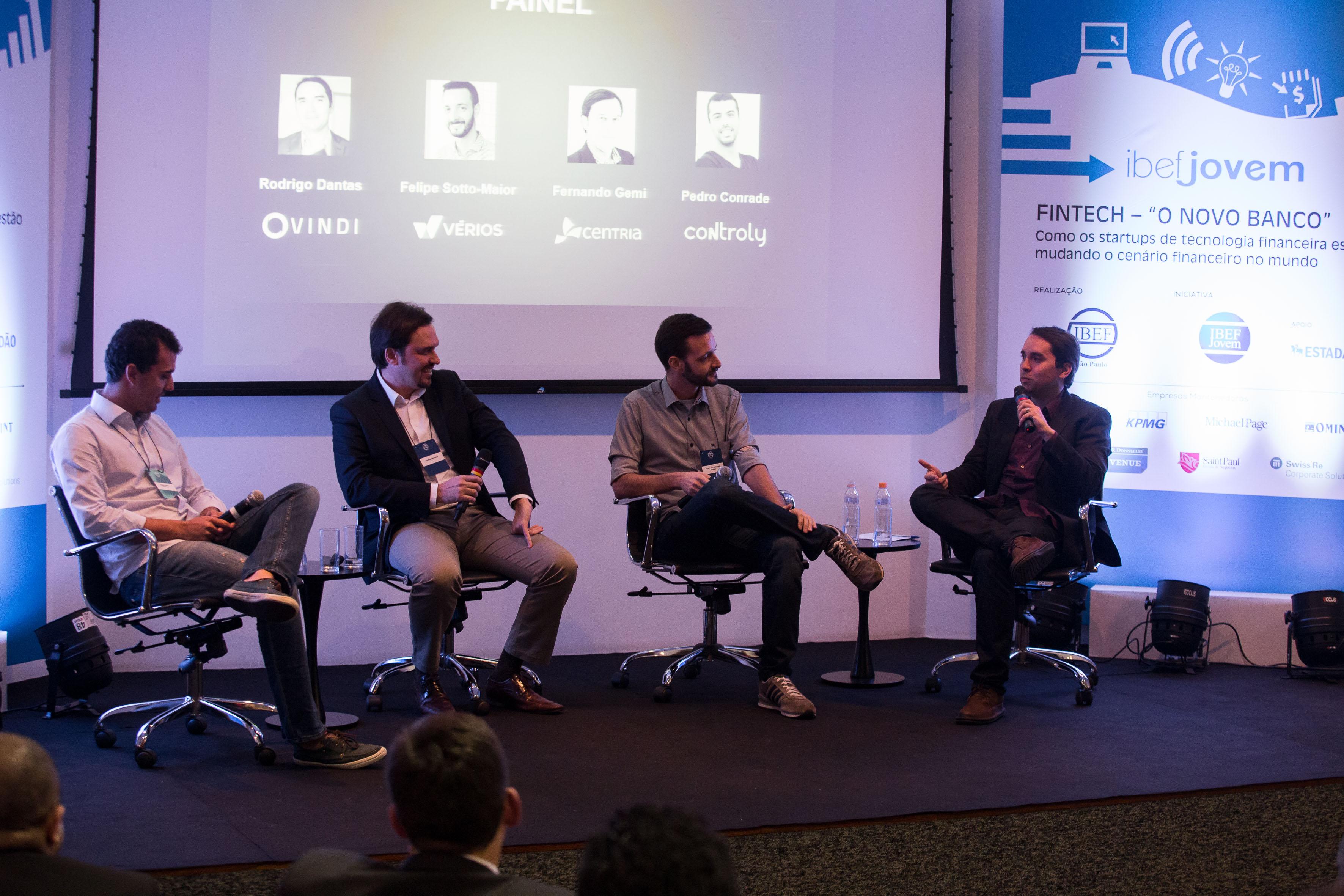 """São Paulo-SP - 19/05/2016 - Evento de IBEF Jovem """"FINTEC - O Novo Banco"""". Foto: Mario Palhares/IBEF SP"""