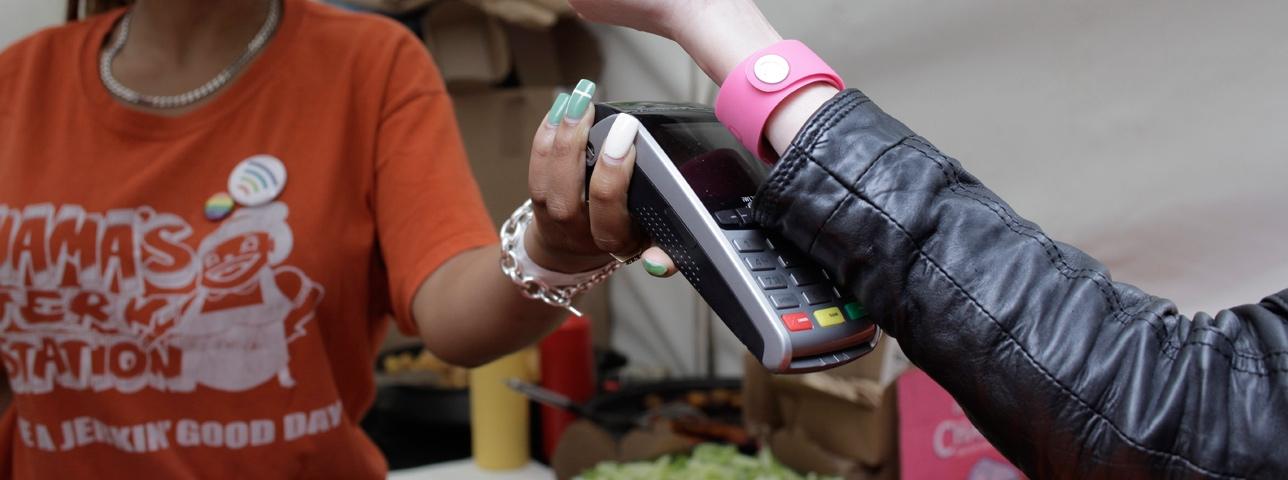 tag pagamentos pulseira