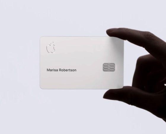 cartao da apple
